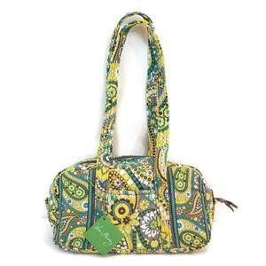 Vera Bradley Lemon Parfait 100 Handbag NWT